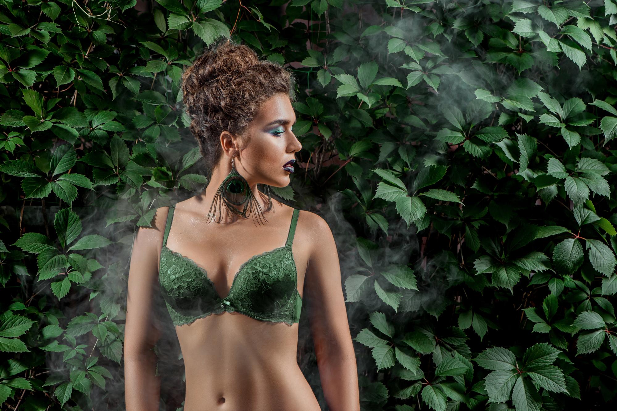 外人女性のモデル